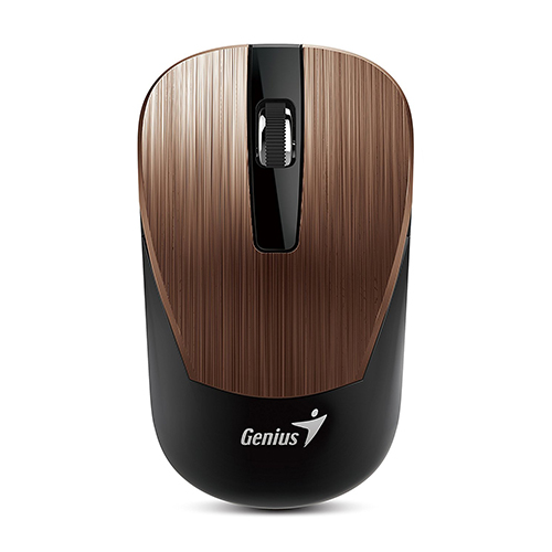Genius NX7015 Comfortable stylish Wireless Mouse_Brown Color