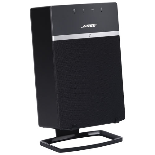 Soundxtra Desk Stand For Bose Soundtouch 10 Speaker Black