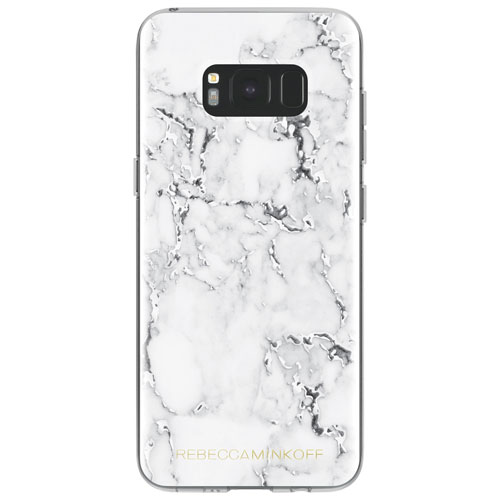 Rebecca Minkoff Fitted Hard Shell Case for Galaxy S8 - White