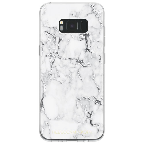 Rebecca Minkoff Fitted Hard Shell Case for Galaxy S8+ - White