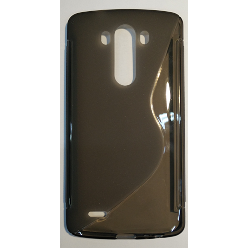 LG G3 S-Shape Case TPU - Smokey Grey