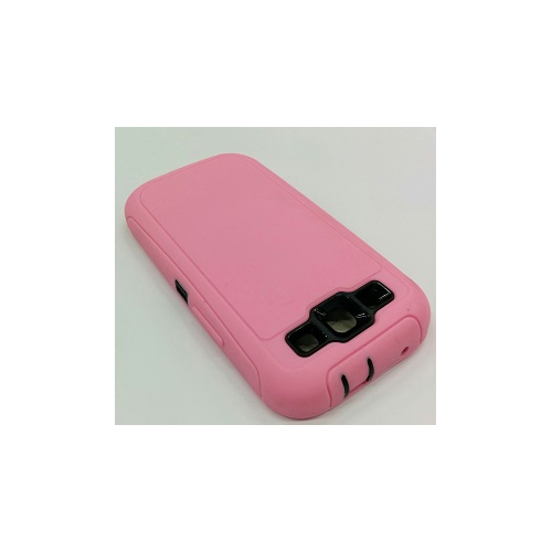 Samsung galaxy S3 i9300 Super protective Case Dual Layer with Screen Protector - Pink