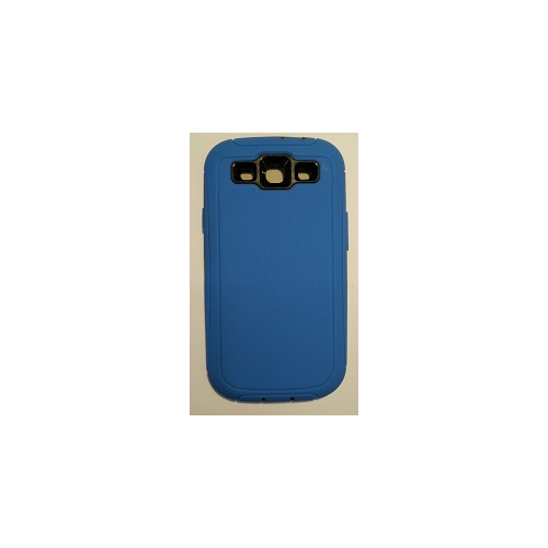 Samsung galaxy S3 i9300 Super protective Case Dual Layer with Screen Protector - Blue
