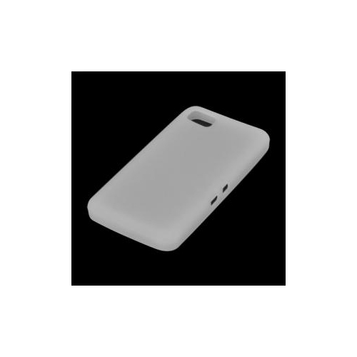 Generic Fitted Hard Shell Case for Blackberry Z10 - White