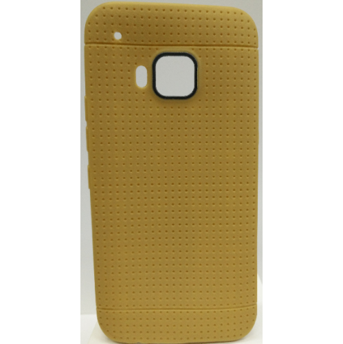 HTC One M9 TPU Dotted Case - Gold