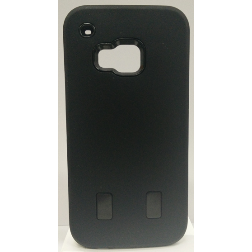 HTC One M9 Dual Layer Hybrid Case - Black
