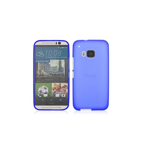 Generic Flip Cover Case for HTC One M9 - Blue