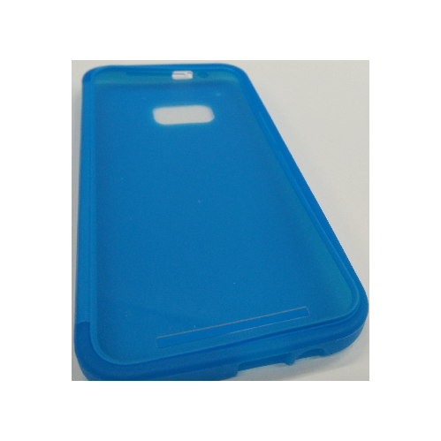 HTC One M9 TPU Gel Case With Flip Cover - Blue