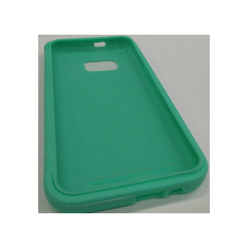 HTC One M9 TPU Gel Case With Flip Cover- Teal
