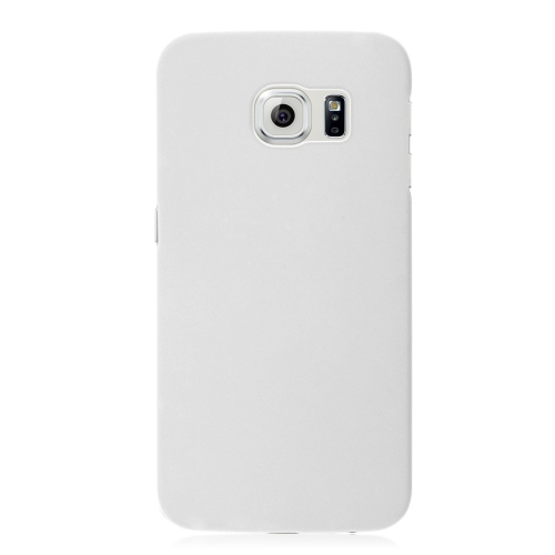 Samsung Galaxy S6 Hard Shell Plastic Case - White