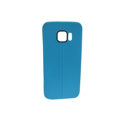 Coque en gel TPU bonbon pour Samsung Galaxy S6 - Bleu