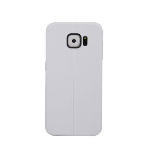 Samsung Galaxy S6 Candy Gel TPU Case - White