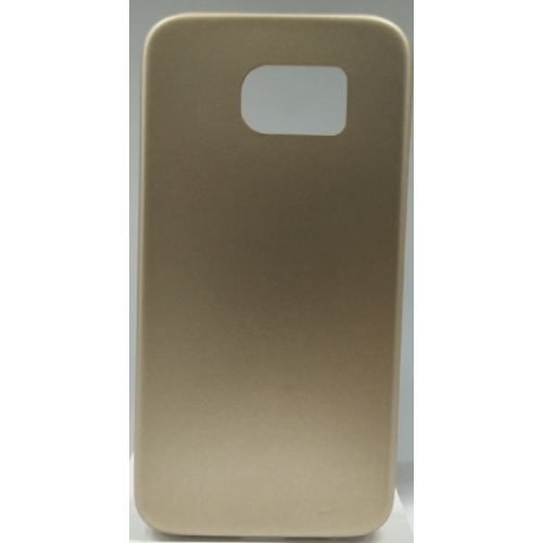 Samsung Galaxy S6 Gel Plain Case - Gold