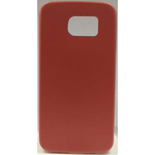 Samsung Galaxy S6 Gel Plain Case - Red