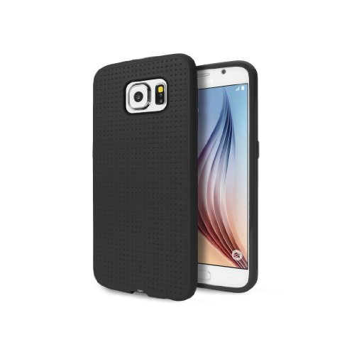 Samsung Galaxy S6 Dotted TPU Case - Black