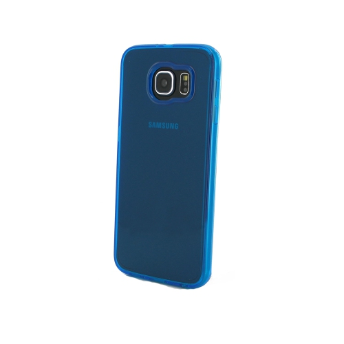 Samsung Galaxy S6 Transparent Case - Blue