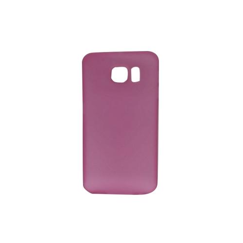 Coque transparente pour Samsung Galaxy S6 - Rose fluo