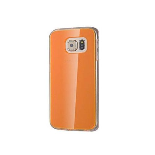Samsung Galaxy S6 Transparent Case - Orange