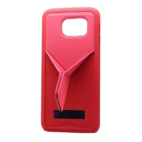 Samsung Galaxy S6 Fold Kick-Stand Case - Pink
