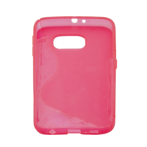 Samsung Galaxy S6 S-Shape Case - Hot Pink
