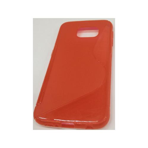 Samsung Galaxy S6 S-Shape Case - Red