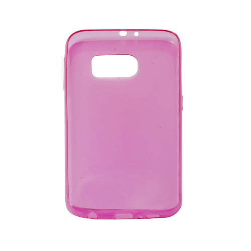 Samsung Galaxy S6 Soft Gel TPU Case - Hot Pink