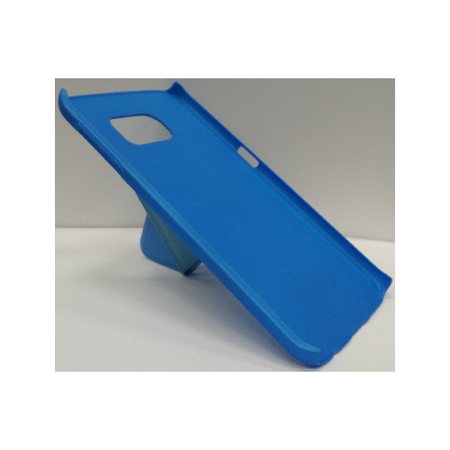 Samsung Galaxy S6 Edge Hard Shell Kick-Stand Case - Blue