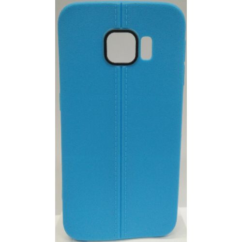Samsung Galaxy S6 Edge Candy Gel TPU Case - Blue