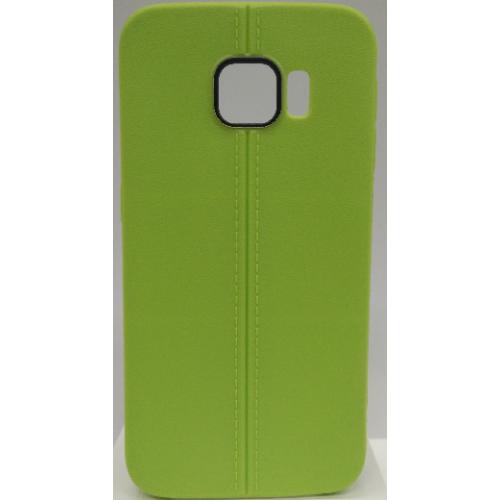 Samsung Galaxy S6 Edge Candy Gel TPU Case - Green
