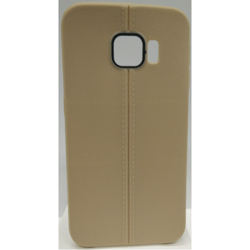 Samsung Galaxy S6 Edge Candy Gel TPU Case - Gold