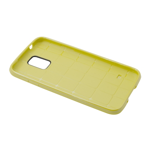 Samsung Galaxy S5 Dotted Case - Yellow