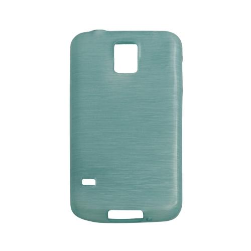 Samsung Galaxy S5 Smudged Pattern Case - Aqua
