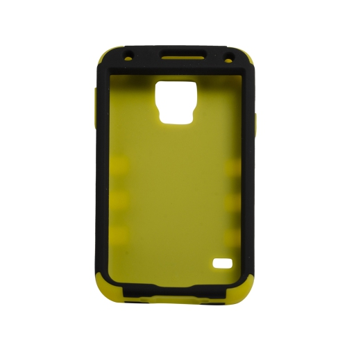 Samsung Galaxy S5 Dual Layer Stripe Case - Yellow