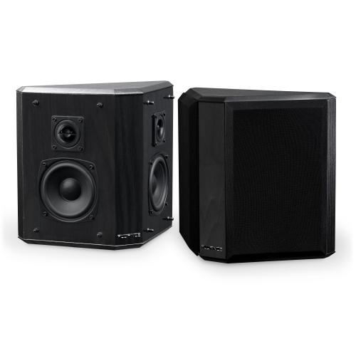 Fluance AVBP2 Home Theater Bipolar Surround Sound Satellite Speakers