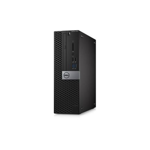 Dell OptiPlex 5000 5050 Desktop Computer - Intel Core i5 (7th Gen) i5-7500 3.40 GHz - 8GB DDR4 SDRAM - 256GB SSD - Windows 10