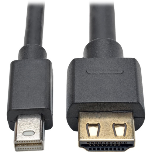 Tripp Lite P586-003-HD-V2A Mini DisplayPort 1.2a to HDMI Active Adapter Cable (M/M), 3 ft.