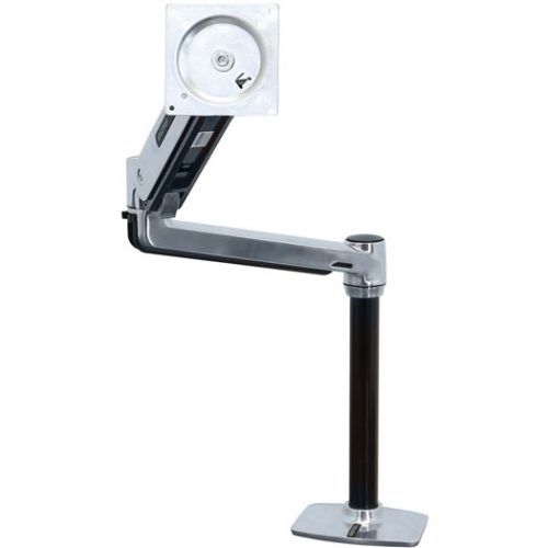 Ergotron LX HD Sit-Stand Desk Mount LCD Arm Monitor Mounts (45-384-026)
