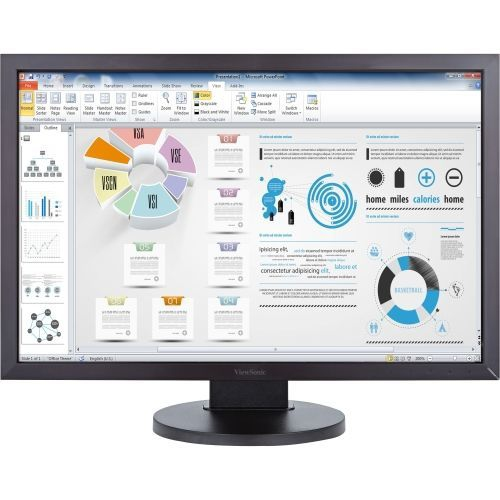 "ViewSonic 24"" FHD 60 Hz 5 ms GTG LED Monitor - Black - (VG2438SM)"