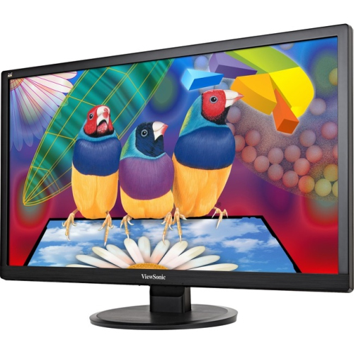 "ViewSonic 28"" FHD 75 Hz 7 ms GTG LED Monitor - Black - (VA2855SMH)"
