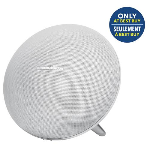 Harman Kardon Onyx Studio 3 Bluetooth Wireless Speaker - White - Only at Best Buy