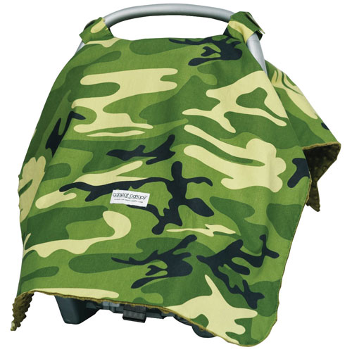 KidCentral Hunter Carseat Canopy Cover
