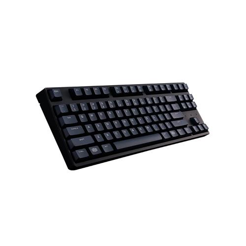 Cooler Master MasterKeys S PBT- Tenkeyless Gaming Mechanical Keyboard, Cherry MX Brown Switches, Thick 1.5mm PBT Keycaps