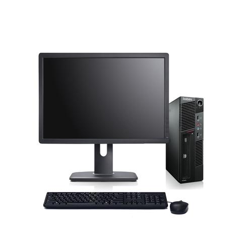"LEN M91 Complete PC, i5 2400 3.1G CPU, 4GB, 320GB, Incl. 19"" L1900PA Monitor, Windows 10, Refurbished"