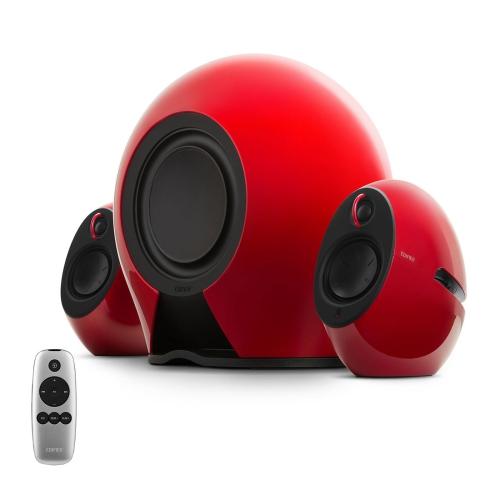 Edifier e235 Système de haut-parleurs Bluetooth - Haut-parleurs 2.1 avec caisson de basses sans fil - Télécommande, entrée optique - 234 Watts RMS