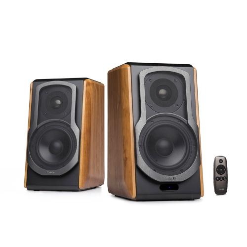 Edifier S1000DB Audiophile Haut-parleurs Active Bookshelf - Bluetooth 4.0 - Entrée optique - Haut-parleur de champ proche alimenté