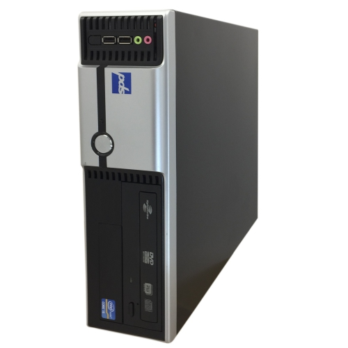 PDS Vector SW Custom Desktop, Intel Core i5, 4GB RAM, 250GB HDD, DVD-RW, Windows 10 Home, 1 Year Warranty - Refurbished