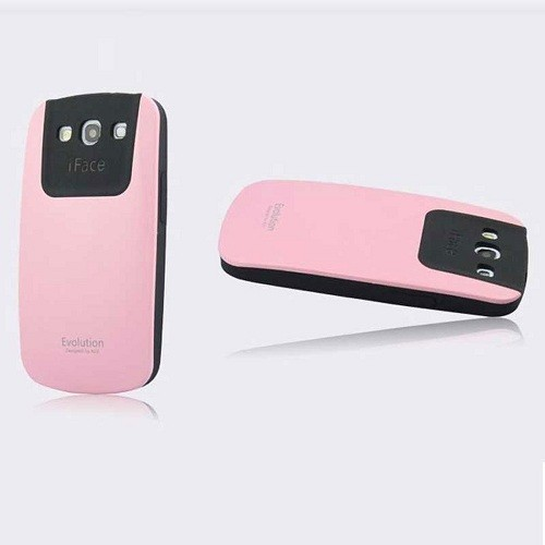 Ultra Shock-Absorbing iFace Case Cover Skin For Samsung Galaxy S3 III i9300 - Pink