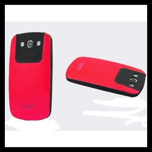 Ultra Shock-Absorbing iFace Case Cover Skin For Samsung Galaxy S3 III i9300 - Hot Pink