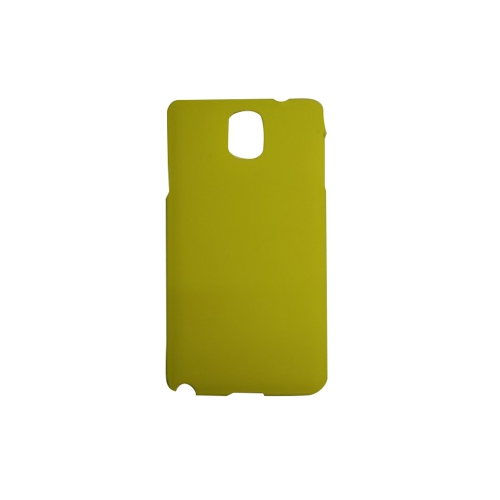 Slim Hard Shell Snap-on Cover Case for Samsung Galaxy Note 3 - Yellow