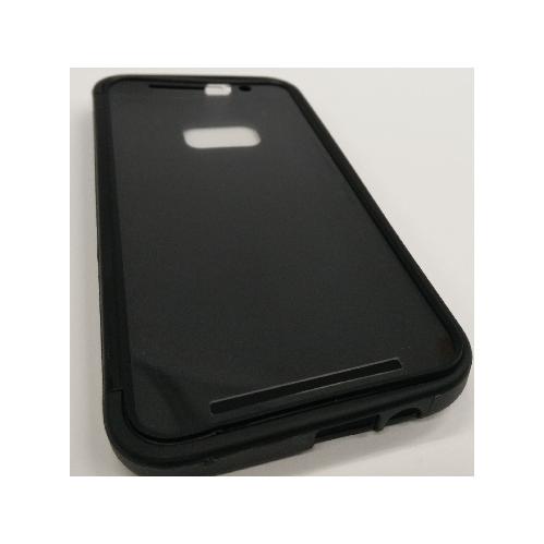 HTC One M9 TPU Gel Case With Flip Cover - Black